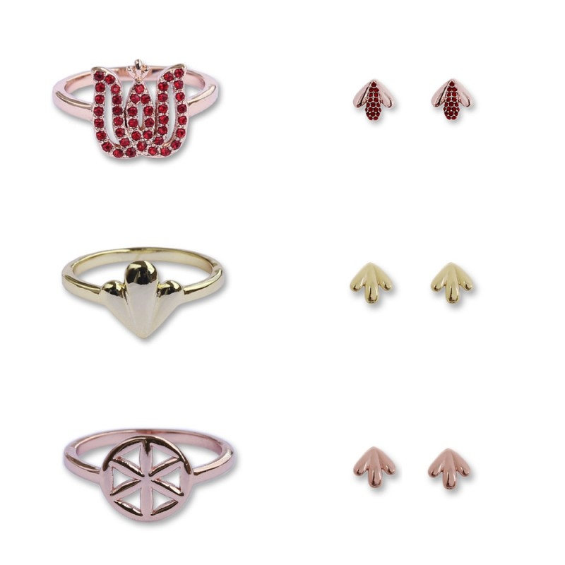 Rings and Earrings Mix