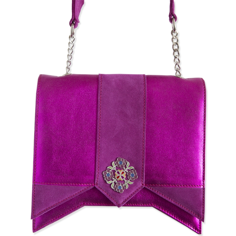 Pink shoulder bag Sarra