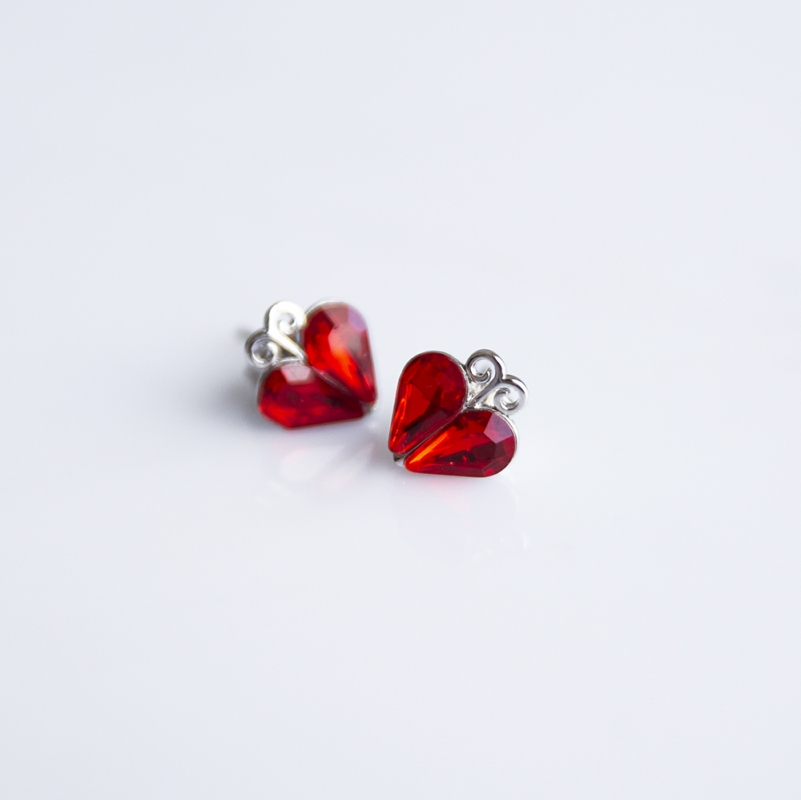 FOLKIE Red hearts